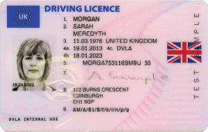 SGM NEW DRIVING LICENCE