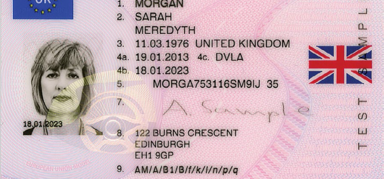 NEW UK DRIVING LICENCE INFORMATION – AND PROVISIONAL DRIVING LICENCE